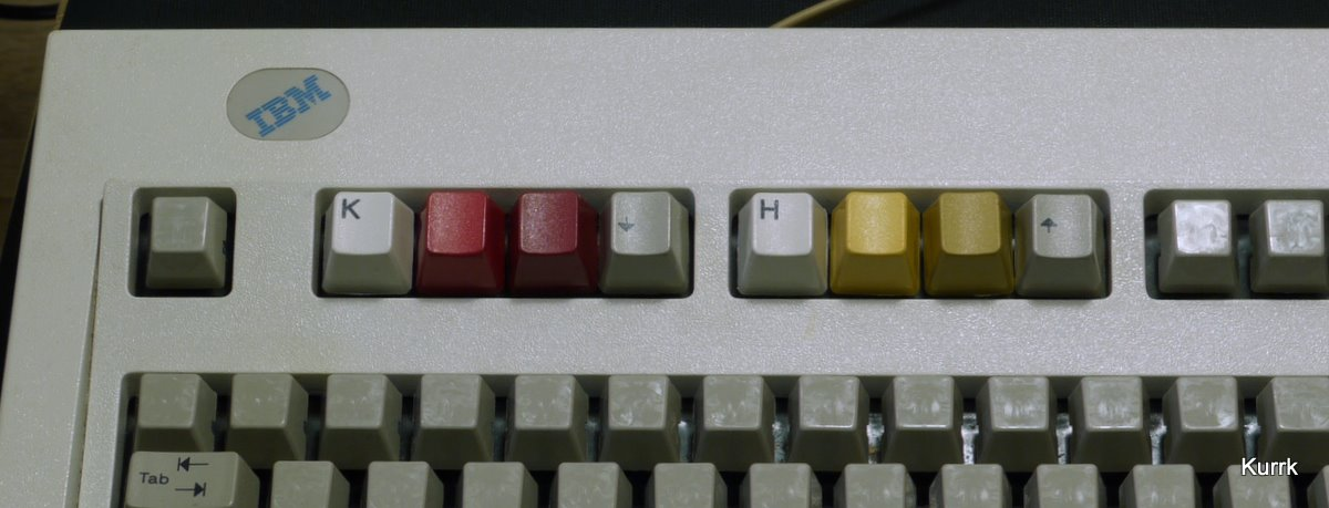 The Model M caps after dying.