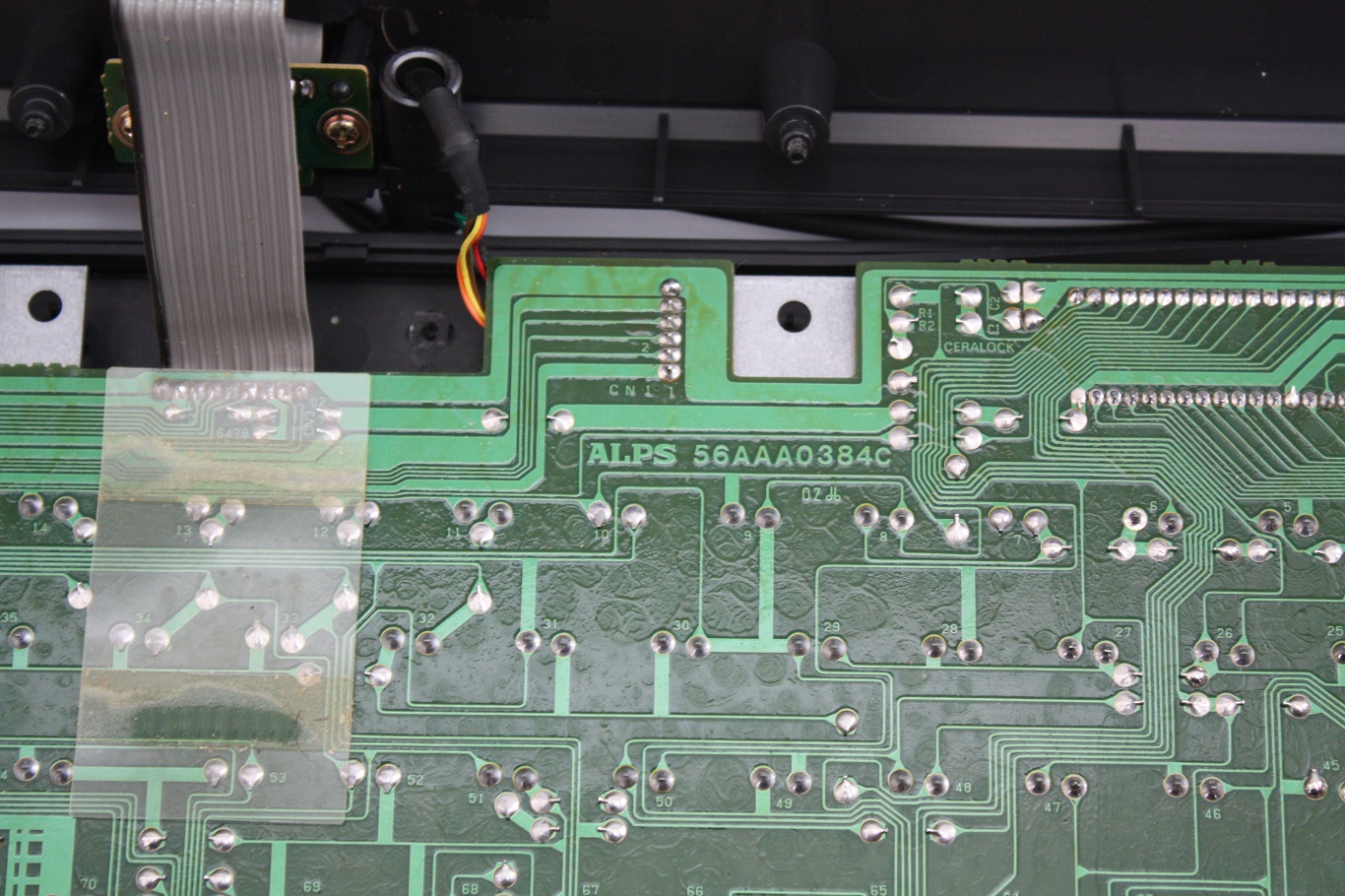 NeXT AAE - circuit board markings