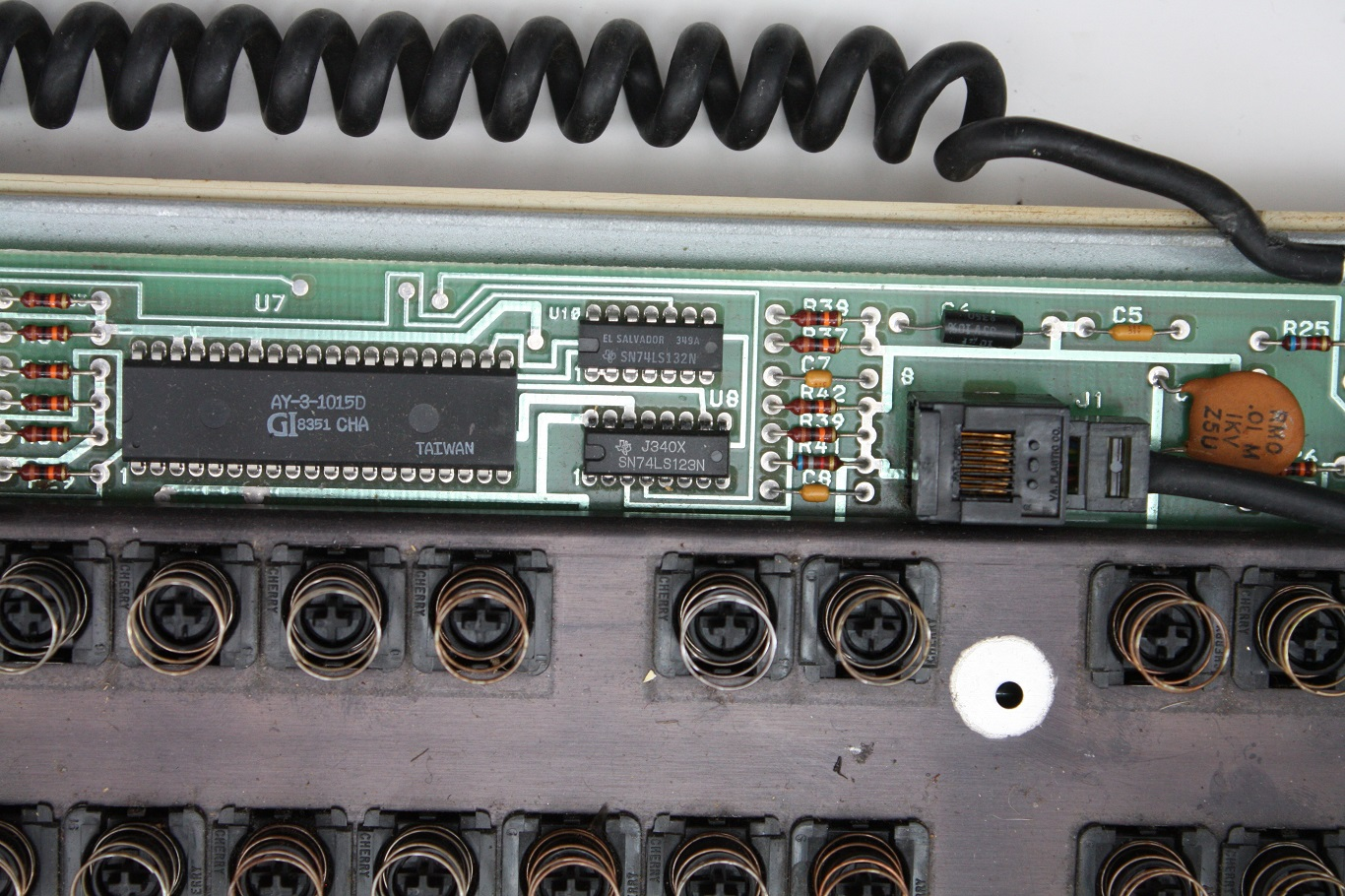 Cherry Terminal Keyboard - PCB components 2.jpg