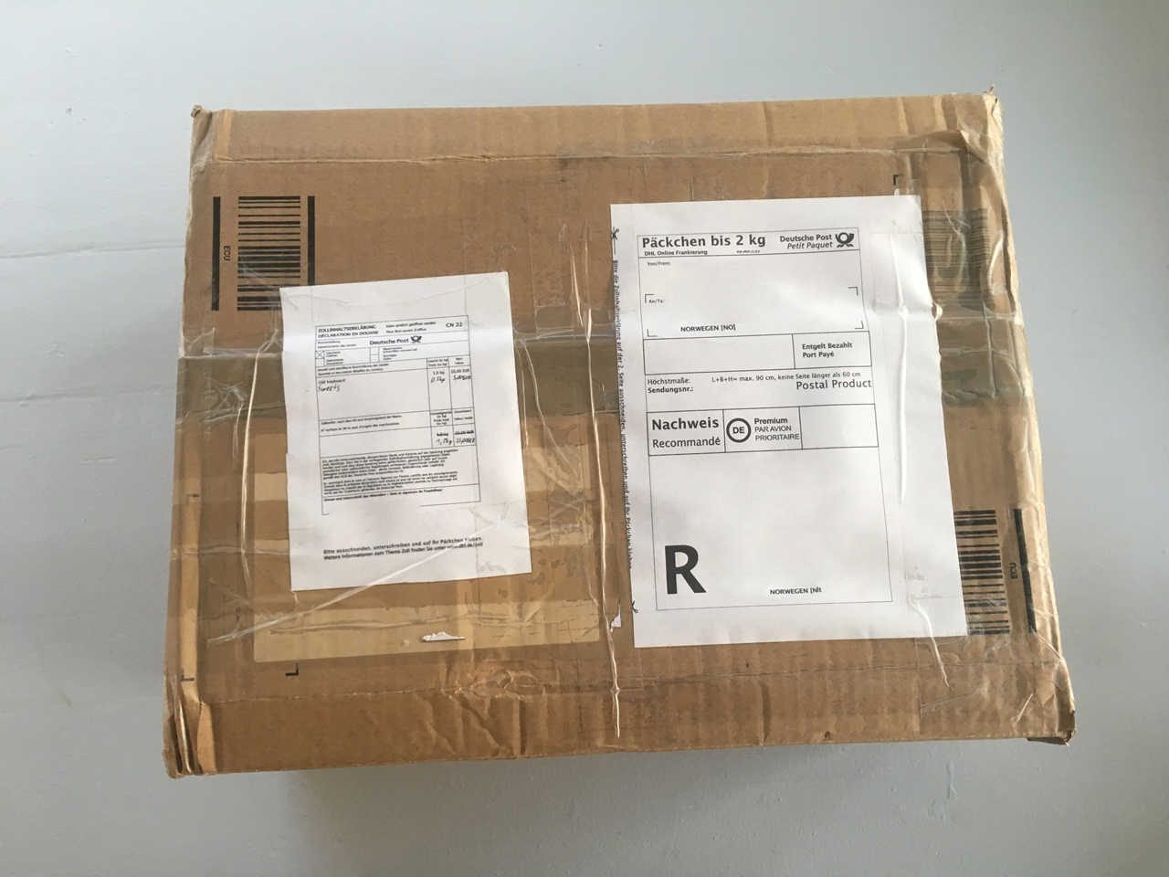 Big secret box from Germany!