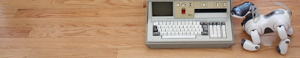 IBM 5100 and Sony Aibo