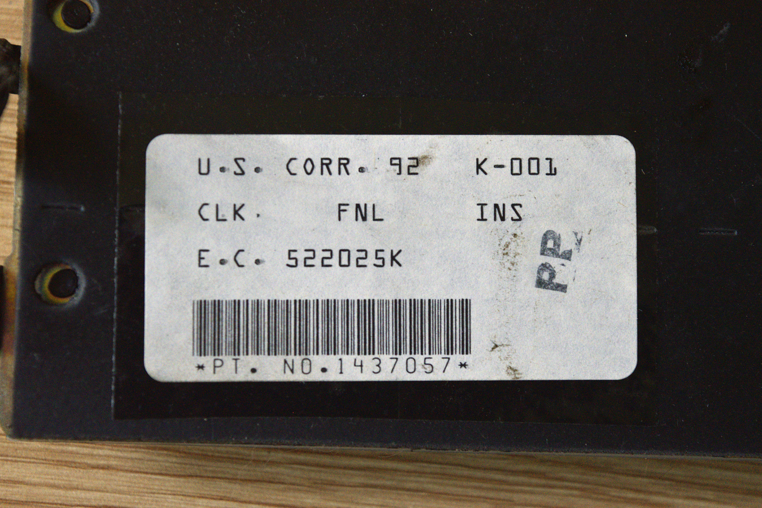 IBM 95 -- Label
