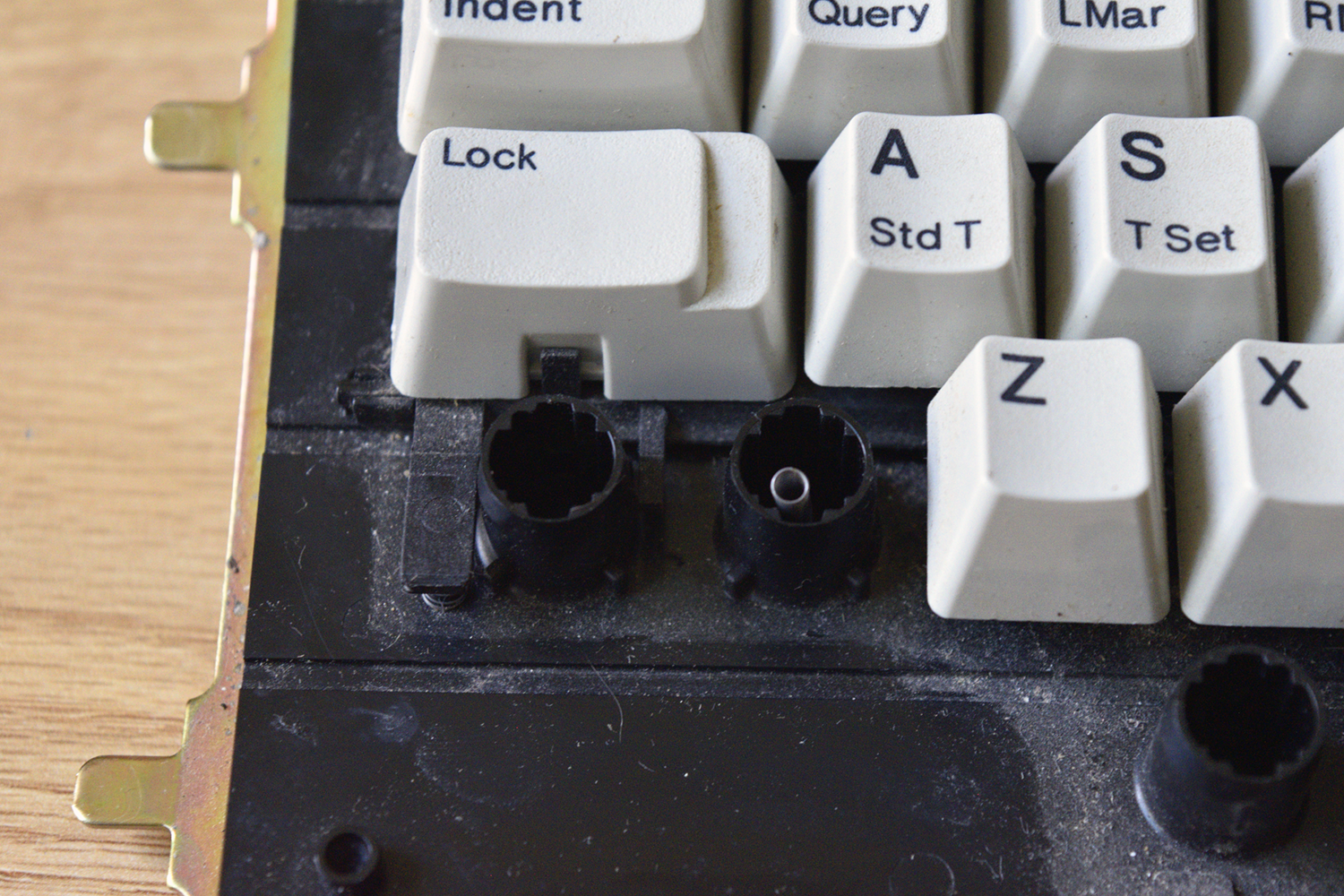 IBM 95 -- Latching Caps Lock key