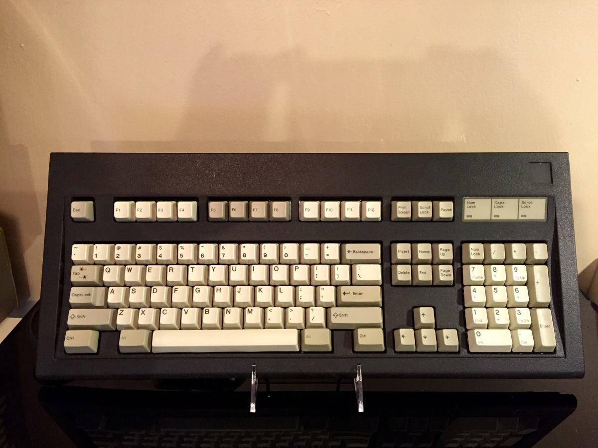 Early IBM ps/2 model M keyboard