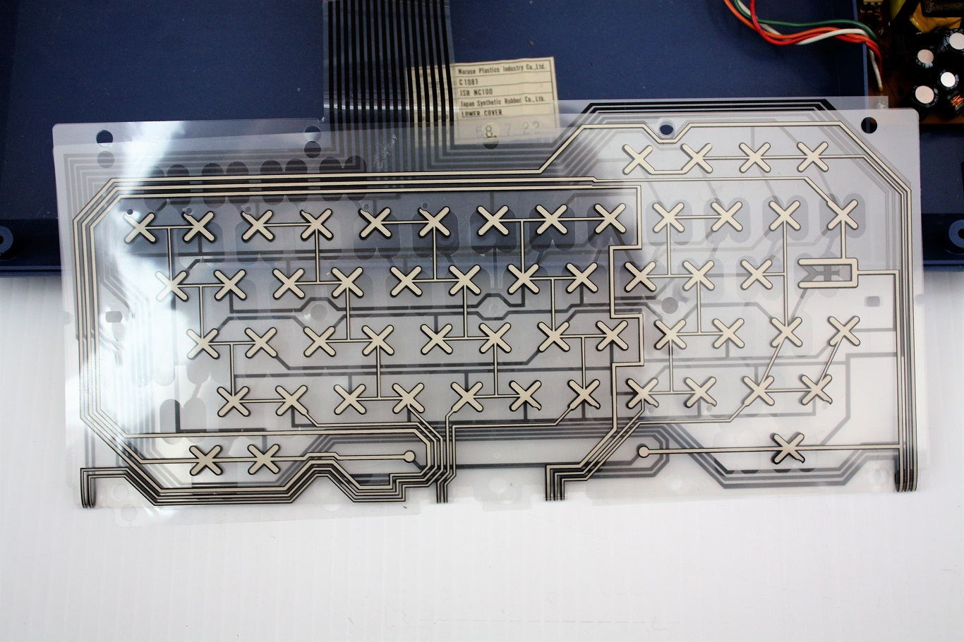 Tomy Tutor - keyboard membrane.JPG