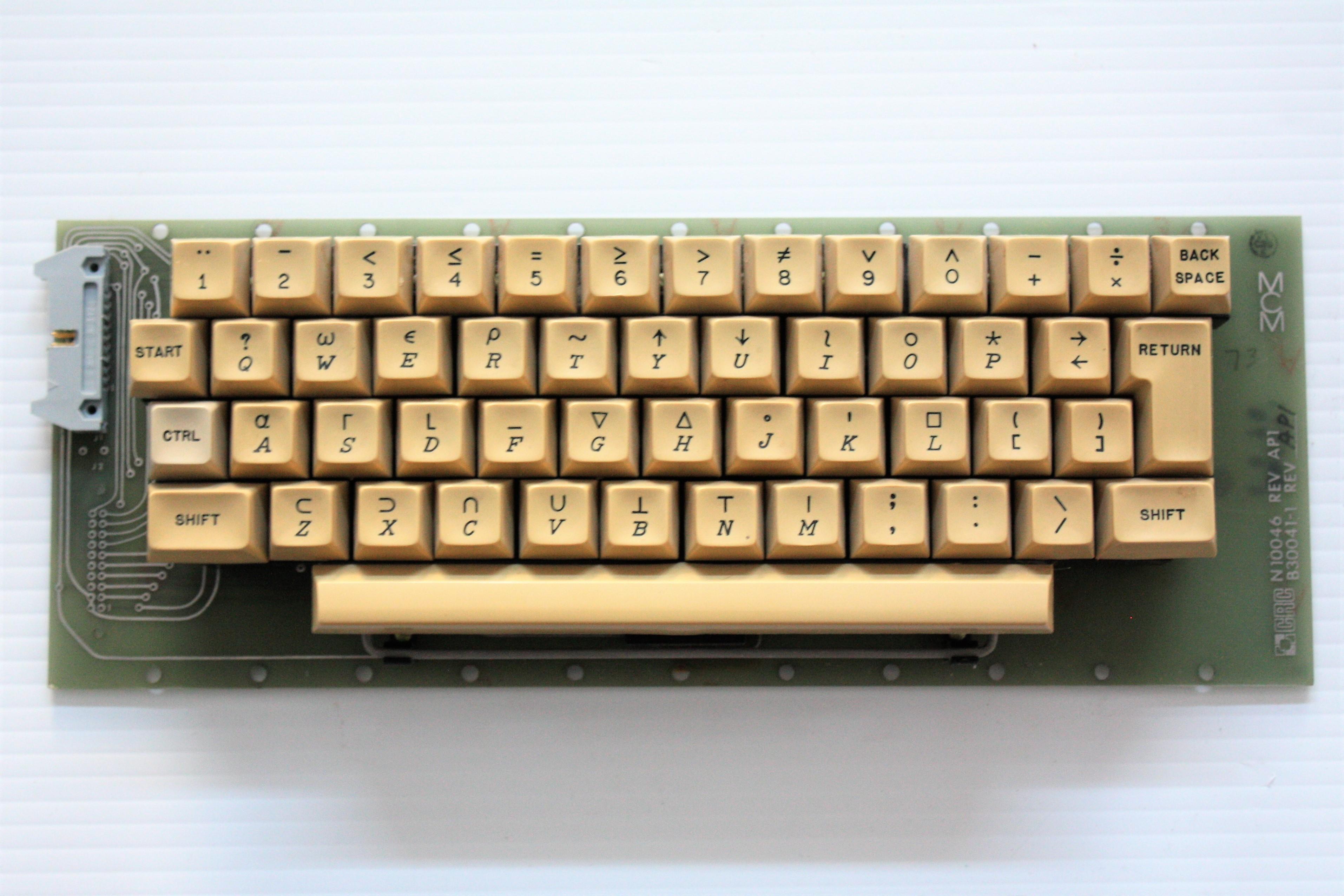 MCM70 - keyboard front.JPG