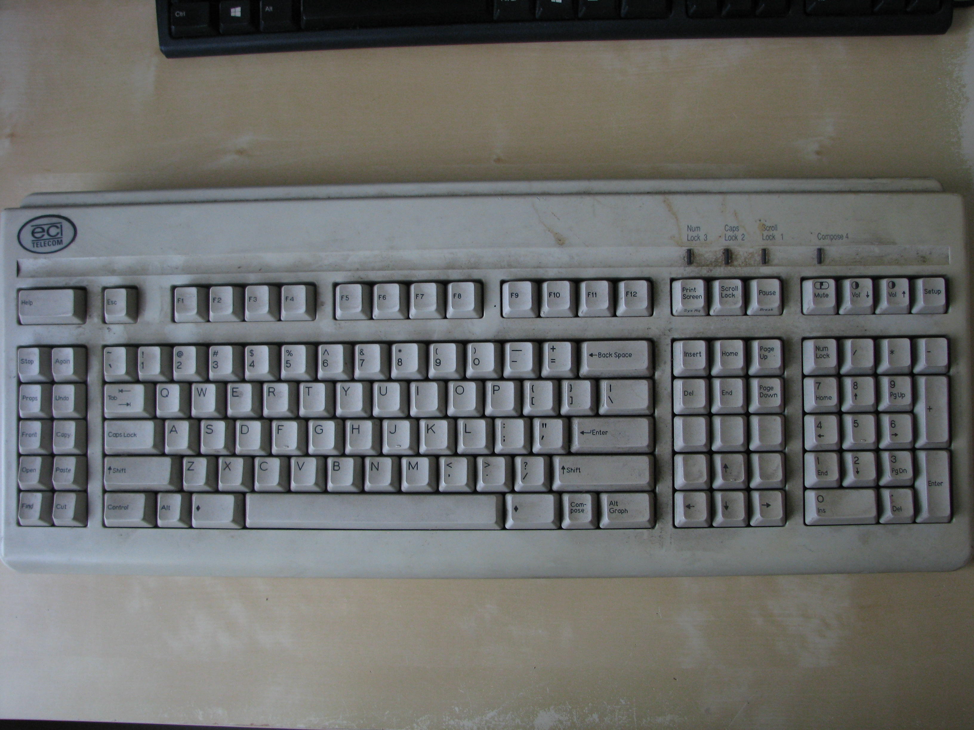 whole keyboard