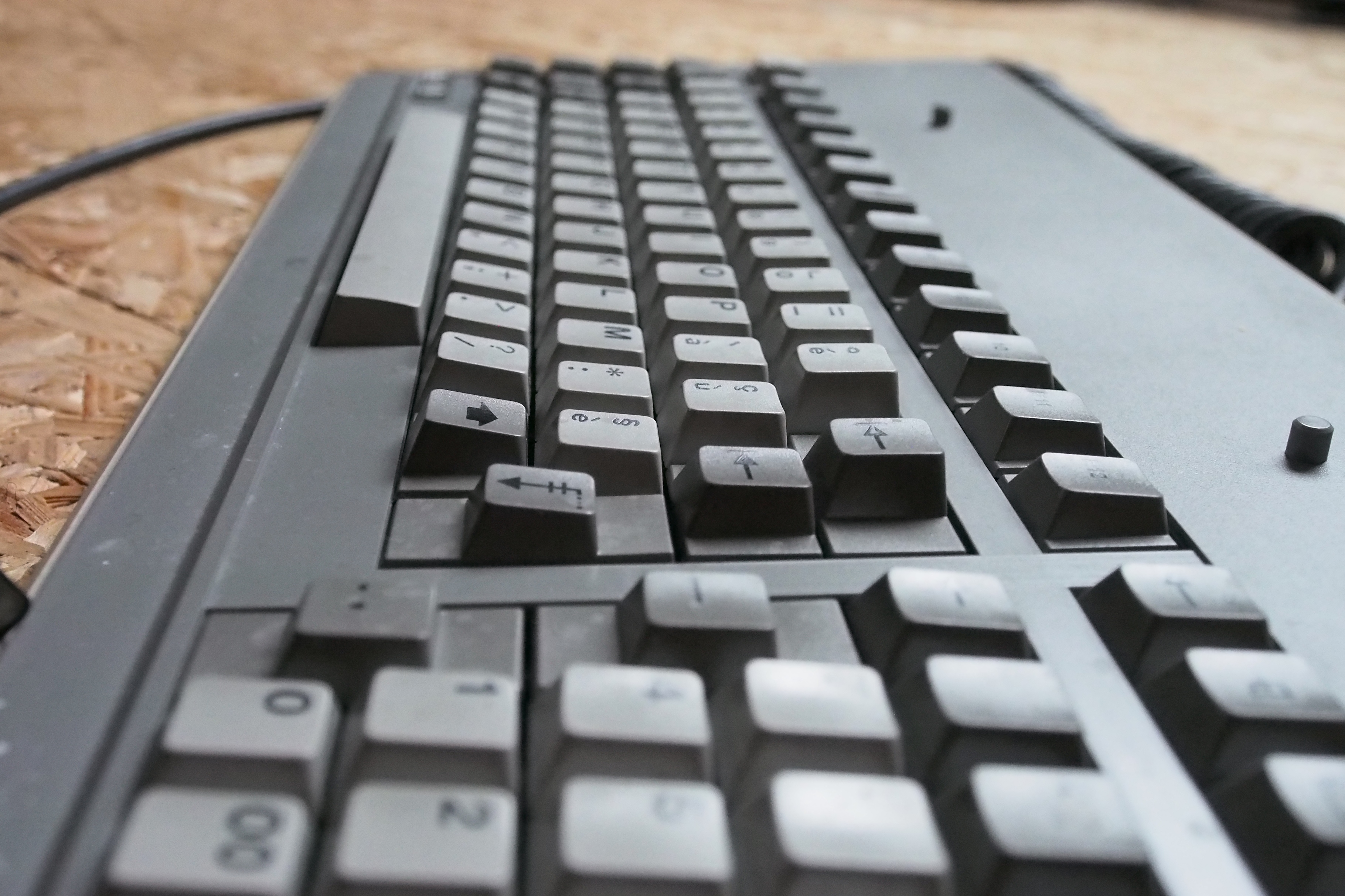 Profile of the keycaps