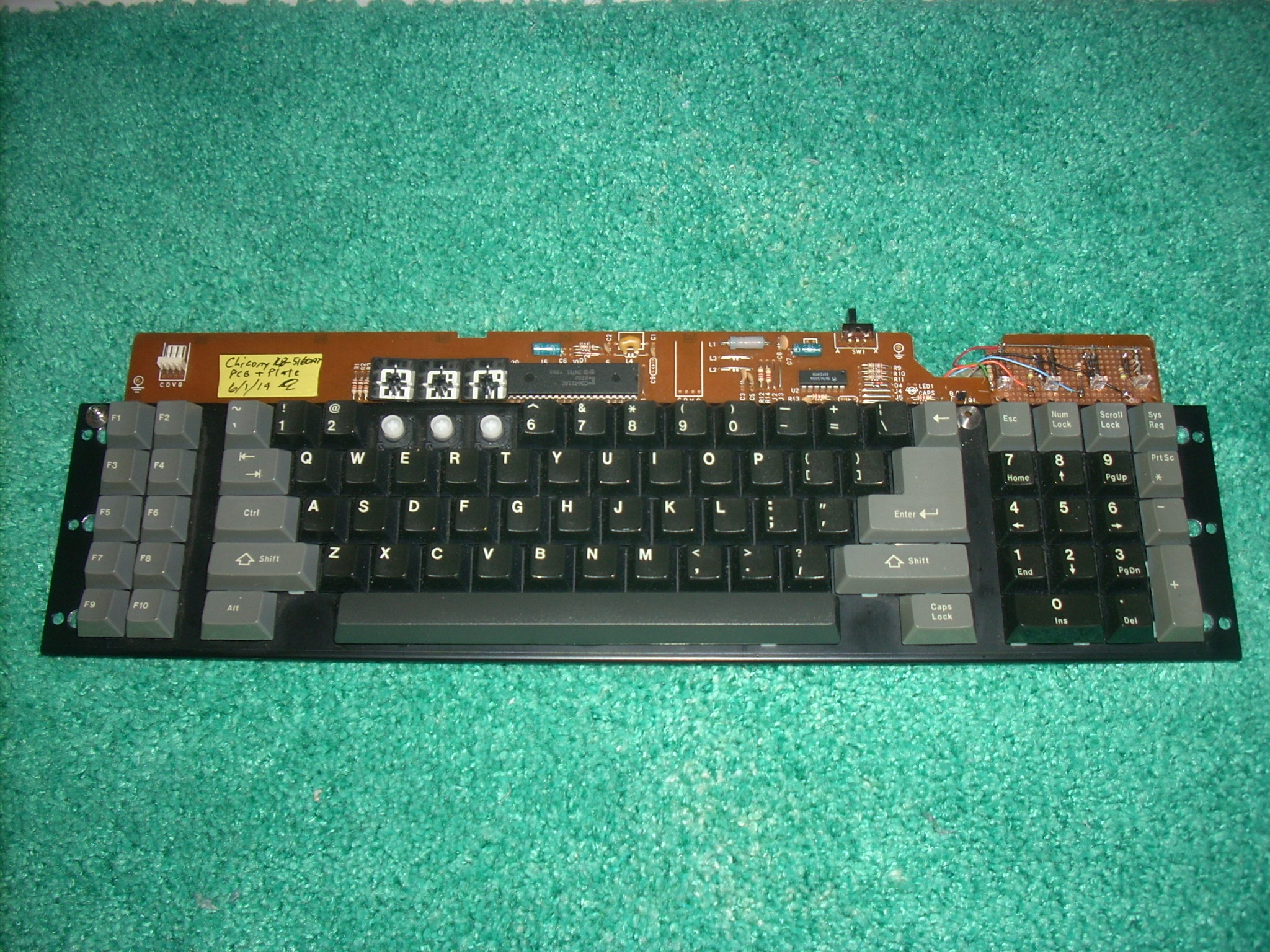Chicony PC board and plate