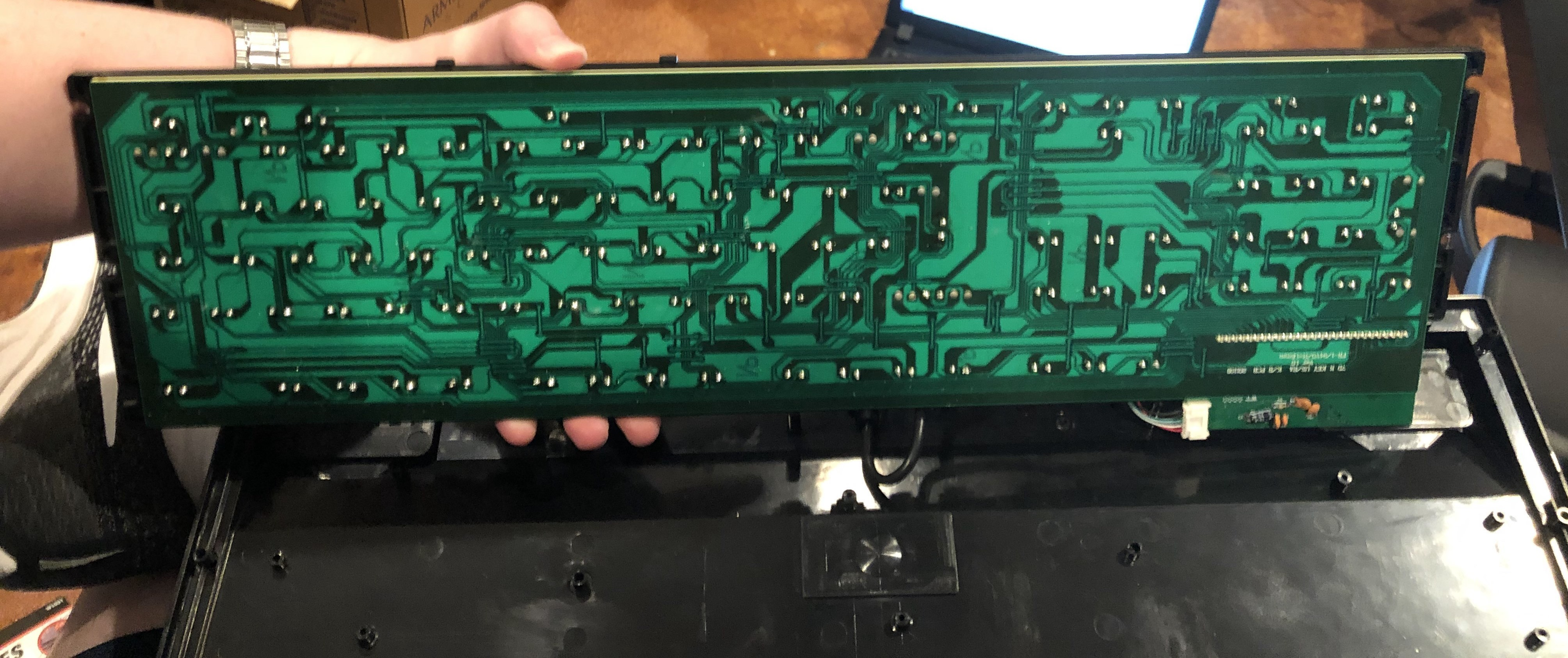 Underside of the board, please excuse some of the crappy solder joints