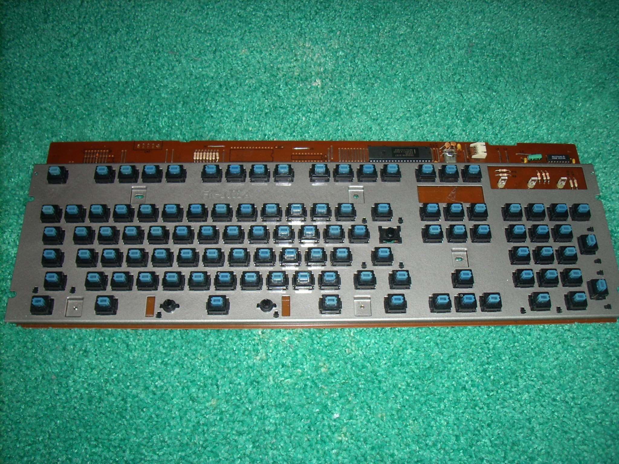 PCB and plate reassembled