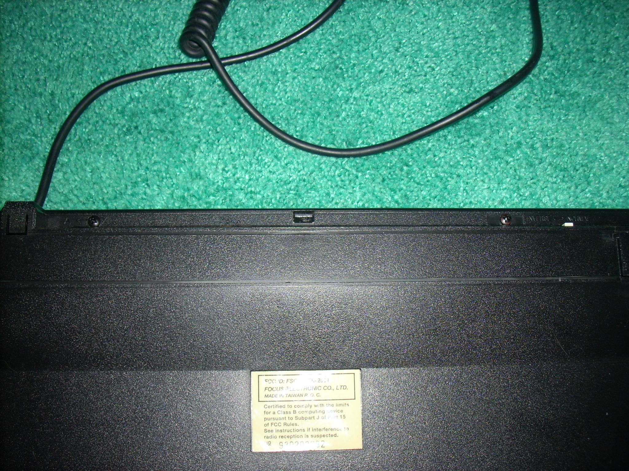 two screws on upper edge in factory holes