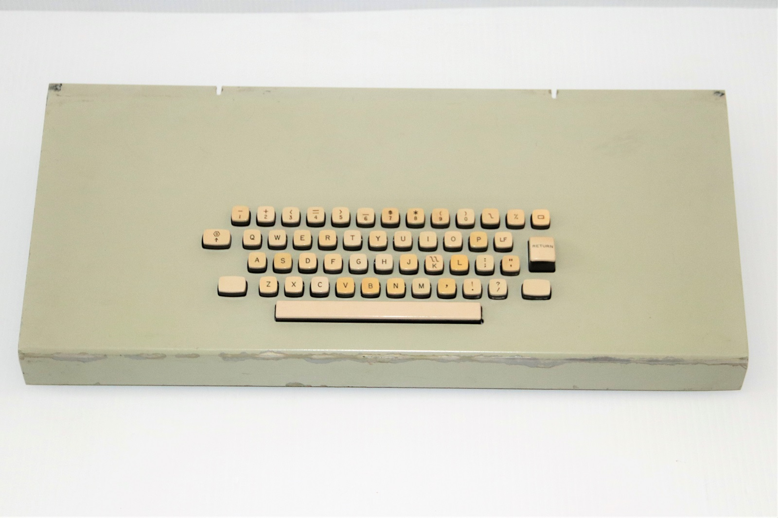 Univac keyboard - top.JPG