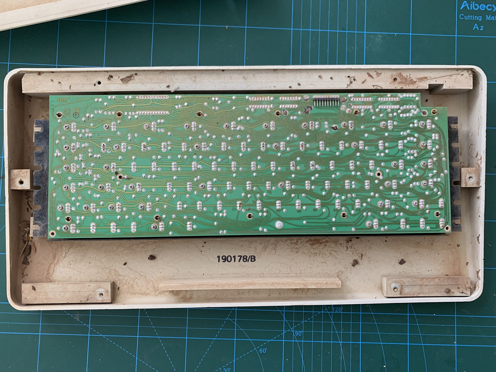 Keyboard mechanism PCB