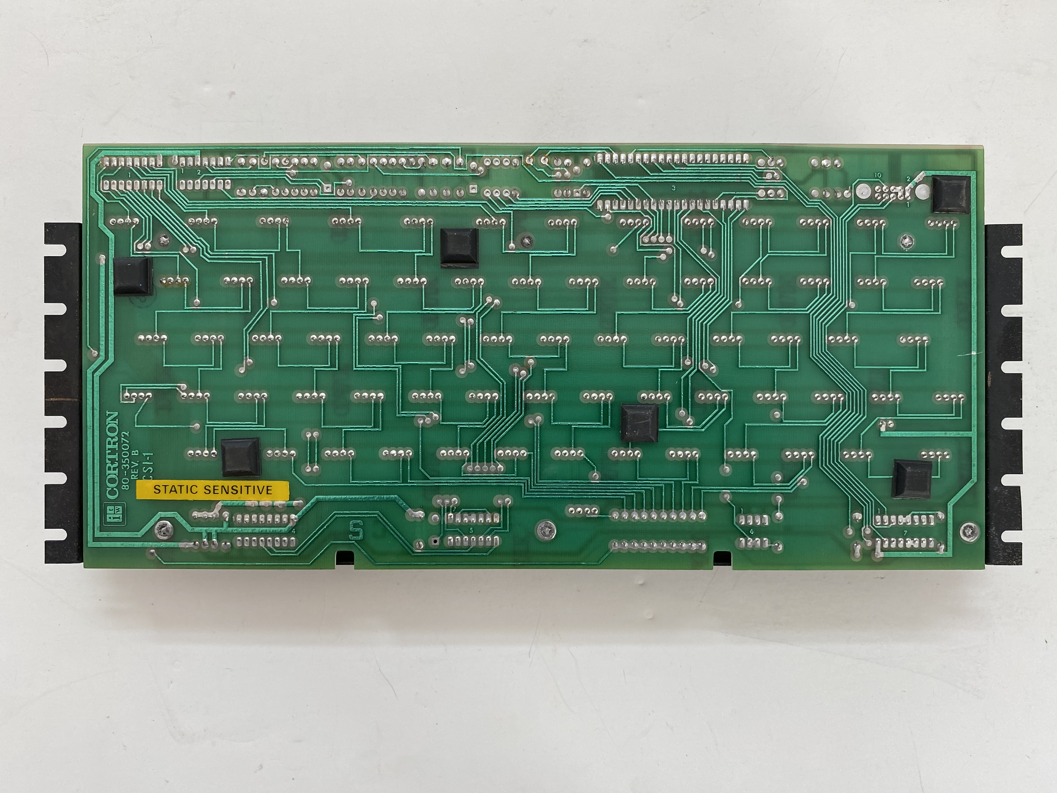 Rear PCB for the keyboard mechanism